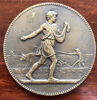 JEAN LAGRANGE Et LINDAUER Médaille bronze Ministère Agriculture Monnaie PARIS