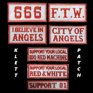 Hells Angels Support  KLETTPATCHES  Original 81 Support  RAW BRM FTW 666 Angels