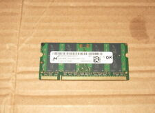 1X4GB Genuine Micron MT16HTF51264HZ-800C1 4GB Laptop DDR2 800 200Pin SODIMM