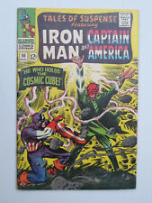 TALES OF SUSPENSE # 80 US MARVEL 1966 IRON MAN vs SUB MARINER  VFN