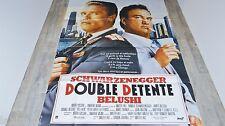 schwarzenegger DOUBLE DETENTE red heat  ! affiche cinema