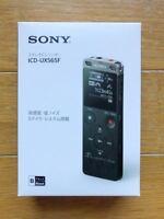 SONY ICD-UX565F stereo IC recorder 8GB linear PCM recording USB Black