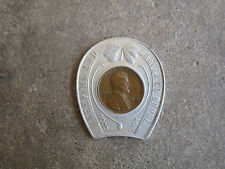 vintage 1941 Duqesne Pilsner Finest Beer in Town encased cent good luck penny