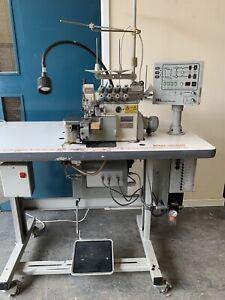 Pegasus EX5214 Industrial Overlocker Automatic Sewing Machine BL520A Backlatch