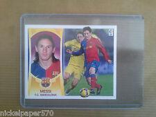 LIONEL MESSI Barcelona sticker cromo panini LIGA BBVA 2009 2010 Top rare