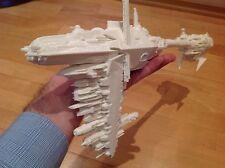 Star Wars Model Nebulon B frigate. Unpainted. Assembled
