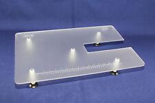 Großer Plexiglas-Anschiebetisch JANOME Skyline S3 S5 S7 und S9 in  60cm x 40cm