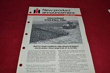 International Harvester 4700 Vibra Tiller Dealers Brochure LCOH