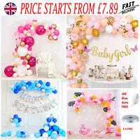 Balloon Arch Kit /Balloons Garland Wedding Birthday Party Wedding Baby Shower UK