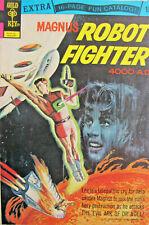 Magnus Robot Fighter 4000 ad #34 Gold Key Comic Bronze Age 1973 FN/FN+