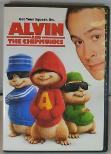 Alvin and the Chipmunks (DVD, 2008, Movie Cash  Dual Side) - Pre-Owned