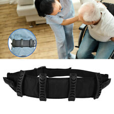 Gait Transfer Belt With Leg Loops Lift Sling Patient Care Safety Walking