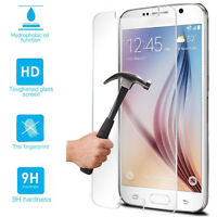 Tempered Glass Screen Protector Case For Samsung Galaxy Note 2 3 4 5 S4 S5 S6 S7