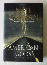 American Gods SIGNED by Neil Gaiman (2001, Hardcover) Inscribed