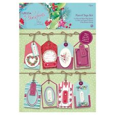 Anhänger Set Parcel Tags Kit - At Christmas Lucy Cromwell 57-teilig