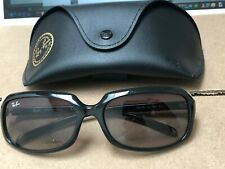Ray Ban RB 4131 Black Gloss Womens Sunglasses Gradient lenses
