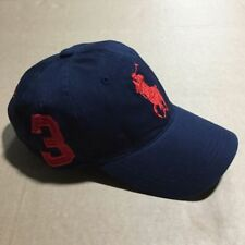 Polo Cap With Fine Embroidery Small Pony 3 Logo Adjustable Blue Hat Baseball 28