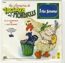 SP Série TV 1 rue Sésame Toccata et Mordicus 1978