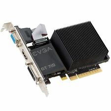 EVGA NVIDIA GeForce GT 710 2 GB Graphics Card VGA/DVI/HDMI
