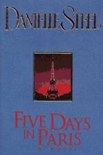 Five Days in Paris by Danielle Steel  L-NW  HC/DJ COMBINE&SAVE