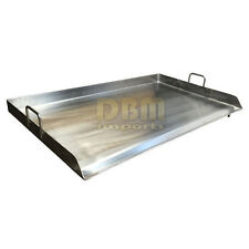 "36"" x 22"" Stainless Steel Griddle Flat Top Grill Plancha PAN for Triple Burner"