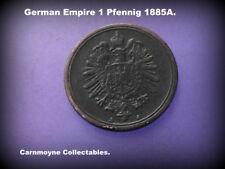 German Empire 1 Pfennig 1885A.AH3476.