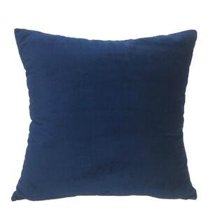Soft Velvet Pillow Core Sofa Cushion Nap Pillows Children Home Decor Modern Cosy
