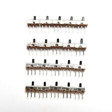 20X SS12D00G3 2 Position SPDT 1P2T 3 Pin PCB Panel Mini Vertical Slide Switch WF
