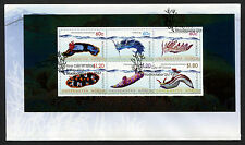 2012 Underwater World Minisheet FDC First Day Cover Stamps Australia