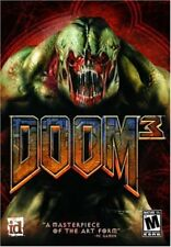 Doom 3 Three - Classic FPS (First-Person Shooter) - id Software PC Computer Game