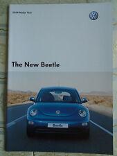VW Beetle range brochure 2004 model year pub Sep 2003
