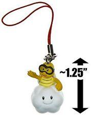 """Super Mario Gashapon Mini Figure Keychain - 1"""" Lakitu (Japanese Import)"""