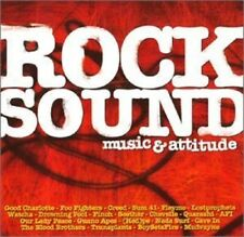 Rock Sound Music & Attitude 22 tracks Various Artists used immaculate