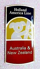 "Holland America Line ""AUSTRALIA"" Souvenir lapel pin New In Package NIP MINT"