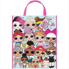 LOL Surprise Doll Paper Party Tote Bag With Handles Girls Birthday Party Favours