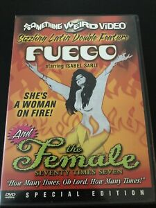 Something Weird Video Fuego / The Female DVD