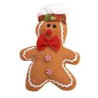 Christmas Tree Hanging Gingerbread Man Ornaments Doll Xmas Home Hang Pendant New