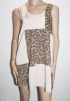 One & Only Brand Beige Floral Sleeveless Dress Size S BNWT #SP57