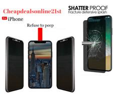 Per Apple iPhone 6s Plus Anti Spy Opaco Privacy Vetro Temperato Protezione Schermo