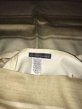 RALPH LAUREN taie d'oreiller pillow case 75 cm * 50 cm neuf imprimé beige