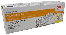 OKI GENUINE/ORIGINAL 42804541 YELLOW Printer Toner Cartridge C3200/C3200N *NEW*