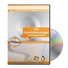 Qualitätsmanager - Fragenkatalogtrainer mit 550 Lernfragen (Windows)
