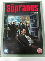 THE SOPRANOS COMPLETE SAISON 6 - 4 DVD COLLECTOR´S EDITION HBO ENGLISH - AM