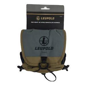 New Leupold Go Afield Binocular Harness XF LP172543 600D Nylon Construction.
