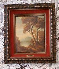 Oil Landscape Painting on Canvas Italian Artist Mariani Renaissance Style