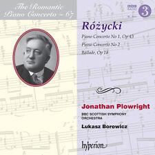 L. Rozycki / Lukasz Borowicz - Romantic Piano [New CD]