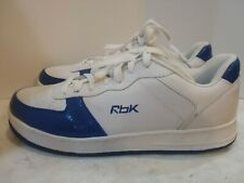 Reebok Leather Upper Sneakers Athletic Shoes Mens Size 14 Blue/ White NEVER WORN