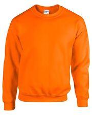 Gildan Mezcla RESISTENTE Adulto Cuello Redondo sweatshirt-unisex Jersey CH hasta