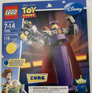 NEW LEGO Toy Story Construct-a-Zurg Emperor Zerg Special Edition Set 7591 Pixar