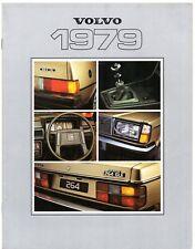 Volvo 1978-79 UK Market Sales Brochure 343 244 245 264 265 262